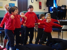 Storytelling workshop on a Scottish island 2017