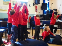 Storytelling workshop on a Scottish island