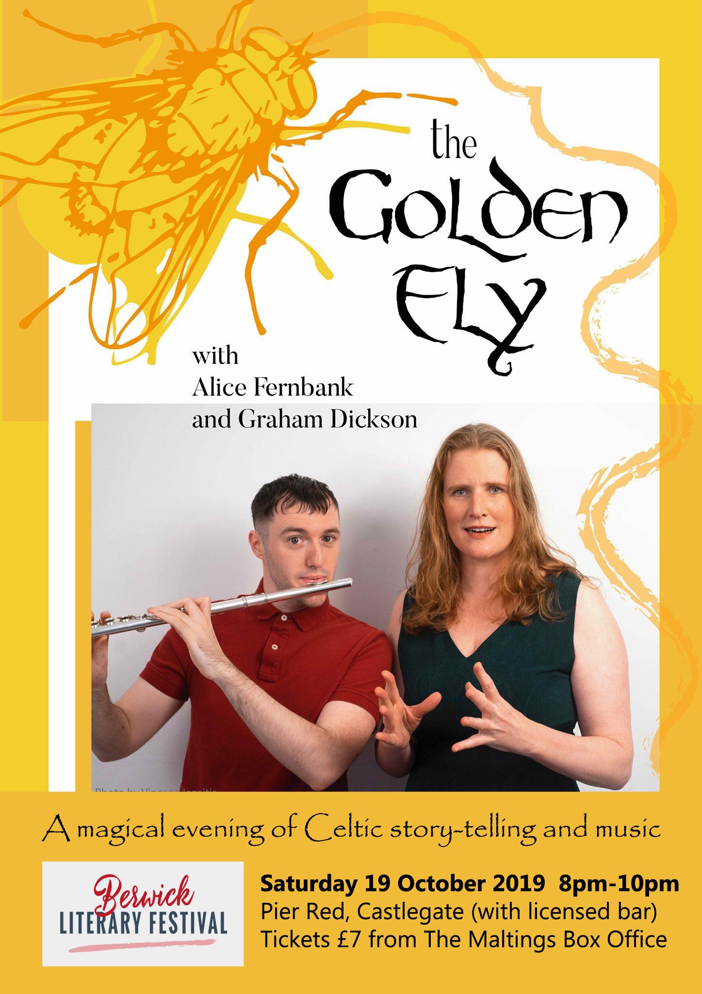 Golden Fly Poster Berwick3